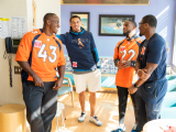2019 | Kareem Visits Denver Children's Hospital